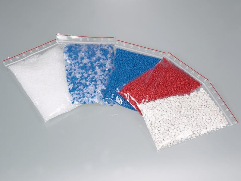 Packaging bags with closure - LDPE, crystal-clear, transport of samples