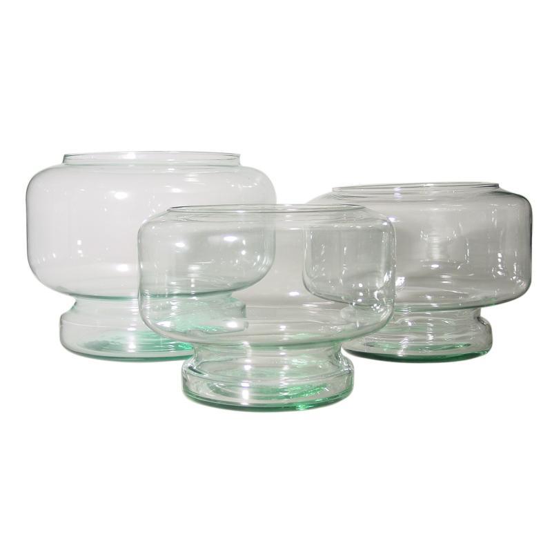Aquarium Neptune, 28 cm, et 8 litres en verre 100% recyclé - Vases, Lanternes, décoration