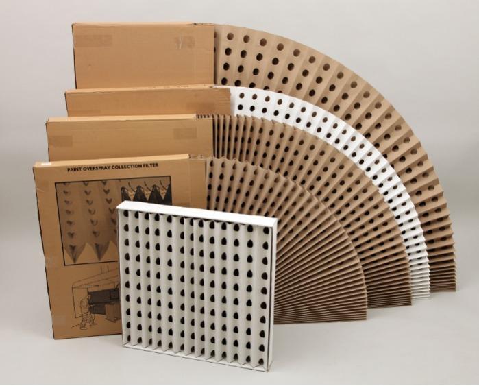 Filtro Carton Plegado - Estandar - Reduce sus costes protegiendo mejor el medioambiente !