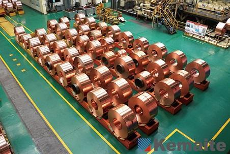 CU - Kupferfolien (Leiterrahmen-Material) -