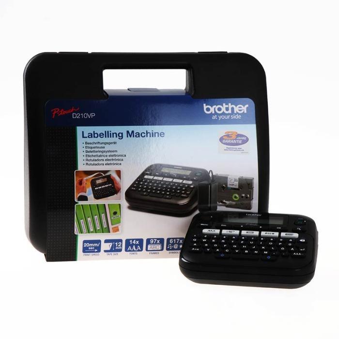 Brother - Etiketleme Makinası - PTD210VPZG1 D210VP siyah