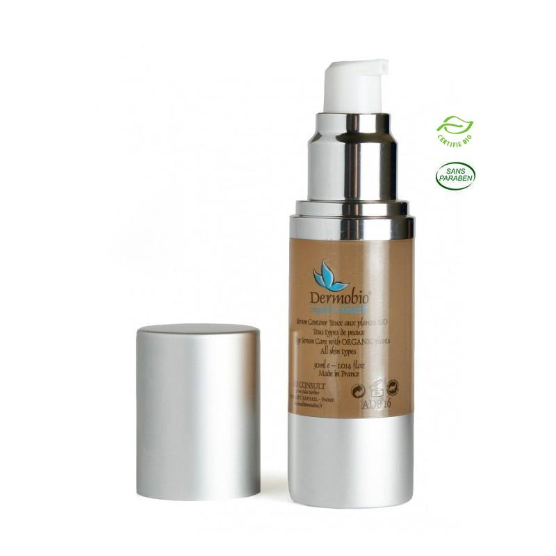 Eye Contour Serum – Organic - Flacon 30ml airless. Réf.