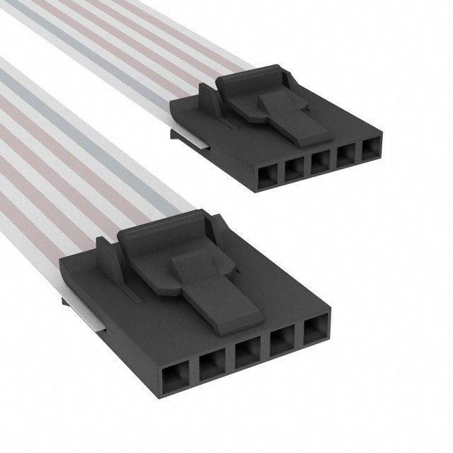 FLEX CABLE - AFK05A/AE05/AFK05A - TE Connectivity AMP Connectors A9CCA-0504E