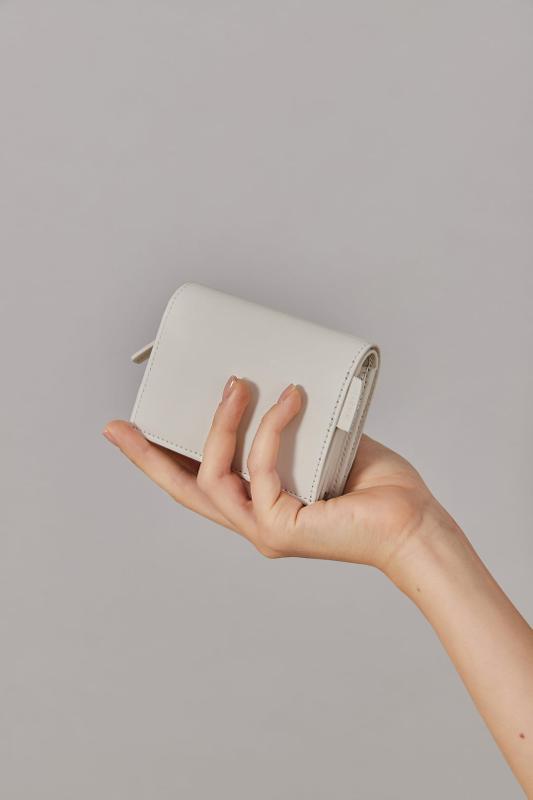 Mini Wallet Off-white, Grey-white - ACCESSORIES