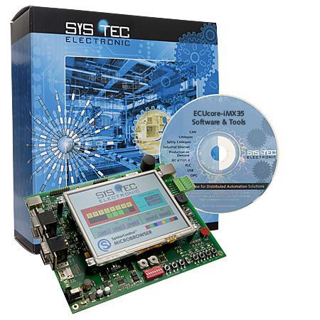 Development Kit PLCcore-iMX35 CODESYS - System on Modules