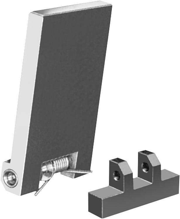 Drilling Plates With Short Hinge Block - Drilling jigs Drill bushes Jig elements