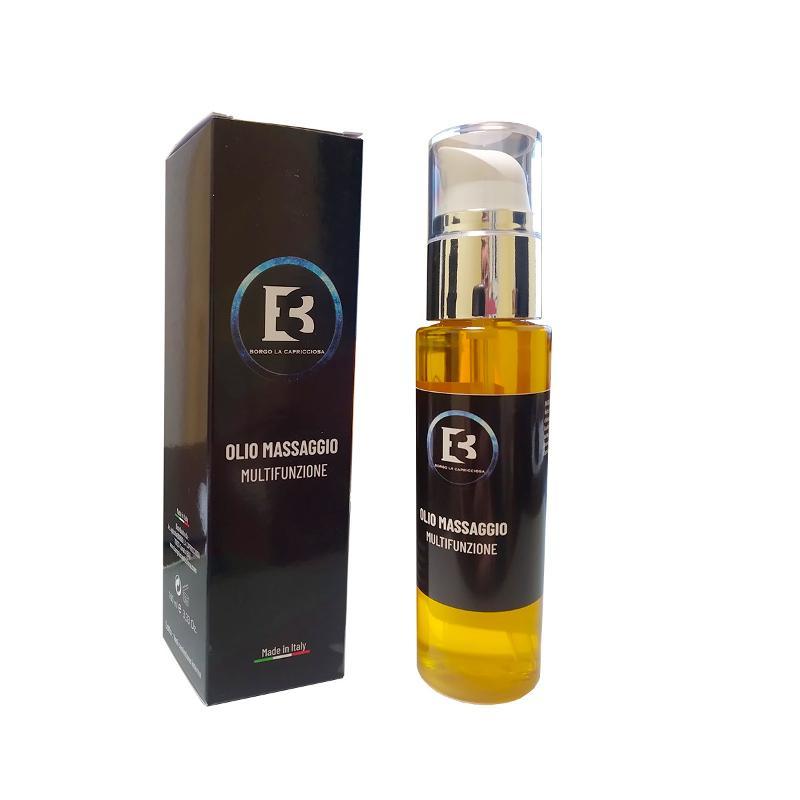 Olio Multifunzione E Massaggi All'olio Di Argan E Olio Evo Idratante Lenitivo - Bio Cosmetica