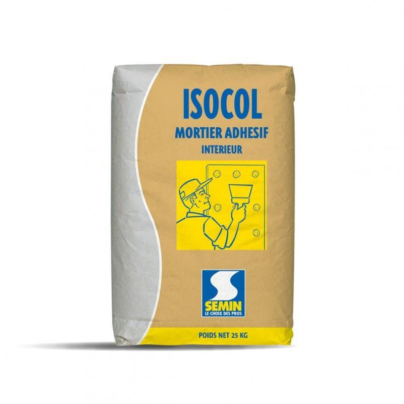 ISOCOL M - Mortier adhésif pour plaques de plâtre