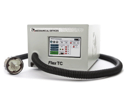 FlexTC benchtop temperature forcing system for IC test - From -55⁰C to +155⁰C with Cooling power 11W@-45⁰C