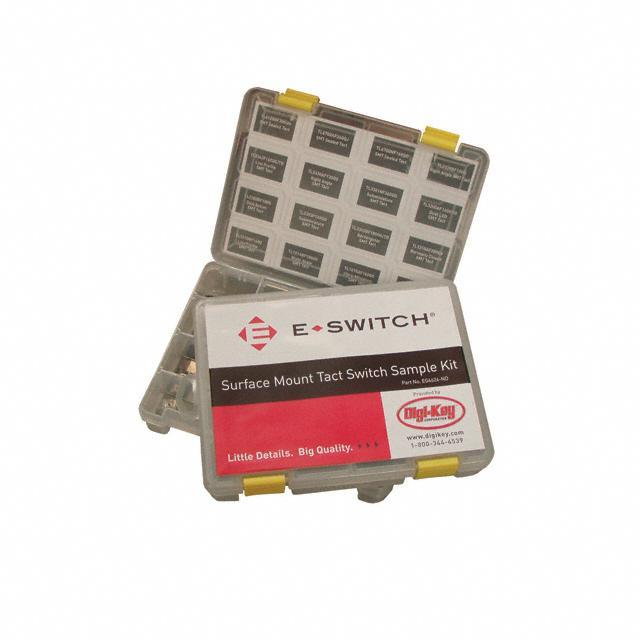 KIT SMT SUBMINIATURE TACT SWITCH - E-Switch SAMPLE KIT SMT TACT