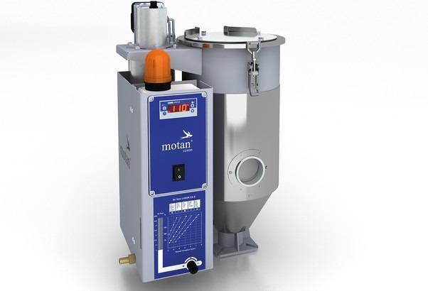 Secador de aire seco - LUXOR CA S (8-60l) - Estación de secado, generador de aire seco, tolva de secado para gránulos