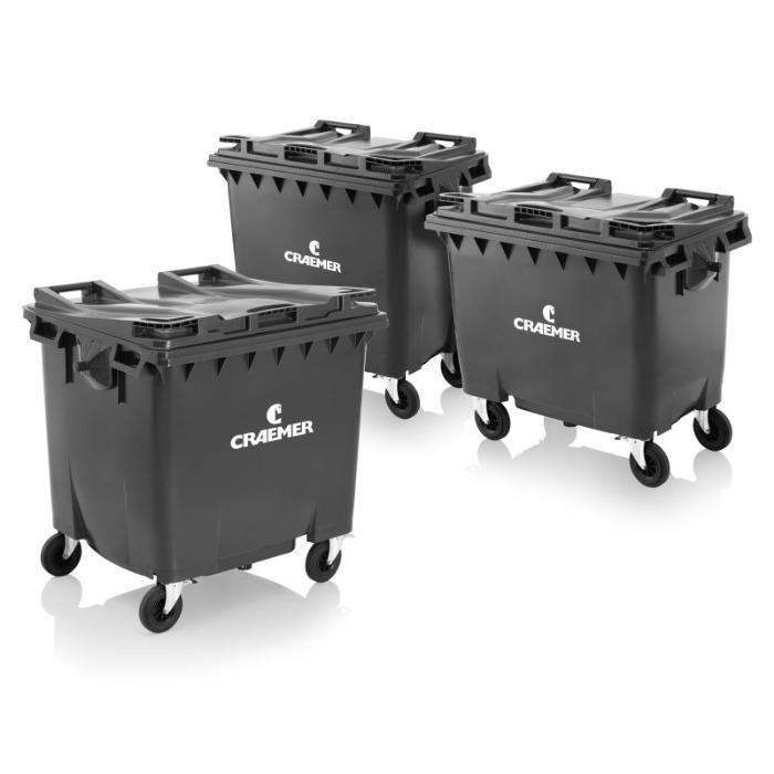 Conteneurs à déchets MGBneo⁴ 660 l, 770 l, 1100 l - Conteneurs à déchets, HPDE, DIN EN 840, RAL-GZ951/1 (GGAWB), 2000/14/EG, MGBneo⁴