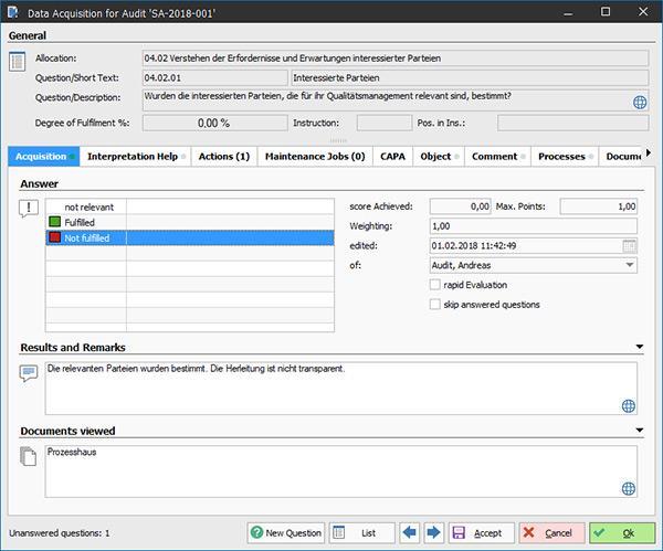 QAM.Net - Audit Management Software - null