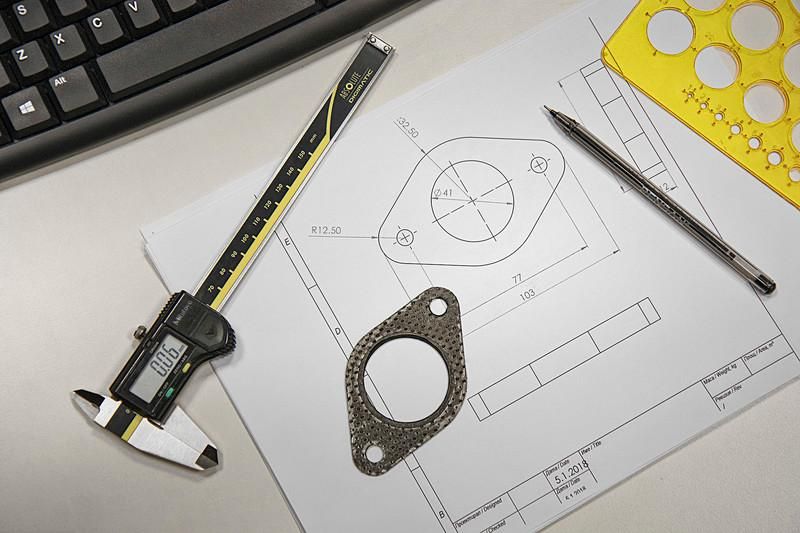 3D CAD engineering and design - null