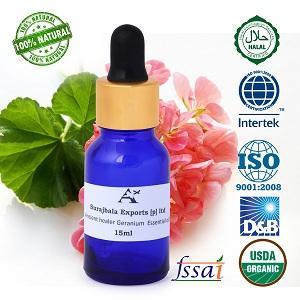 Ancient healer Geranium oil 15 ml - Geranium essential oil