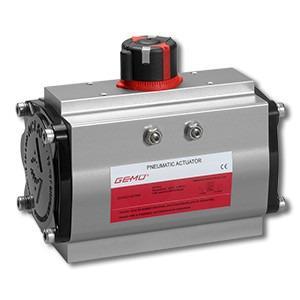 Pneumatic quarter turn actuator GEMÜ ADA - GEMÜ ADA is a pneumatic double acting quarter turn actuator.