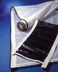 Tele per filtri rotativi sottovuoto e filtri a nastro - Realizzate senza cuciture fino ad un'altezza massima di mm. 5650