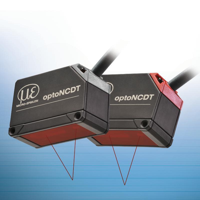 Compact laser triangulation displacement sensor -... - optoNCDT 1320