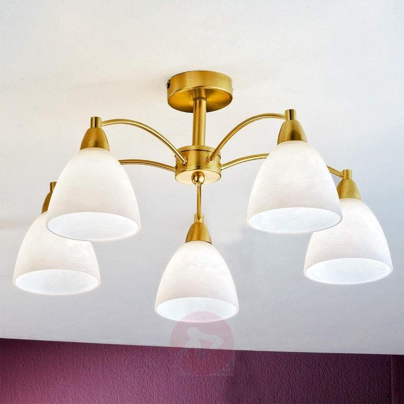 Kinga Ceiling Light Fascinating Brass - Ceiling Lights
