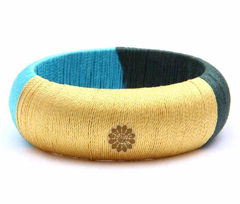 Multicolor Thread Bangle -