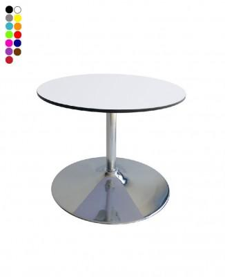 Location de table basse ronde COMPACT pied - null