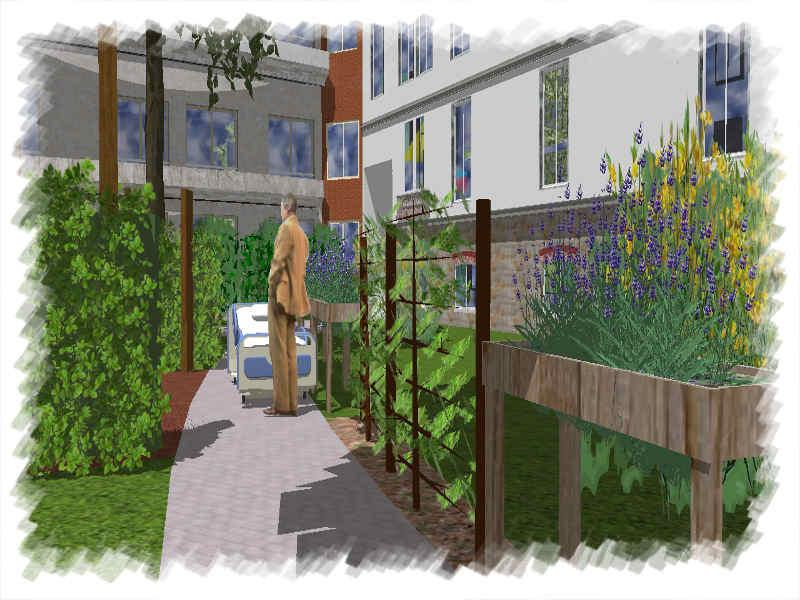 Créer un jardin thérapeutique - Service