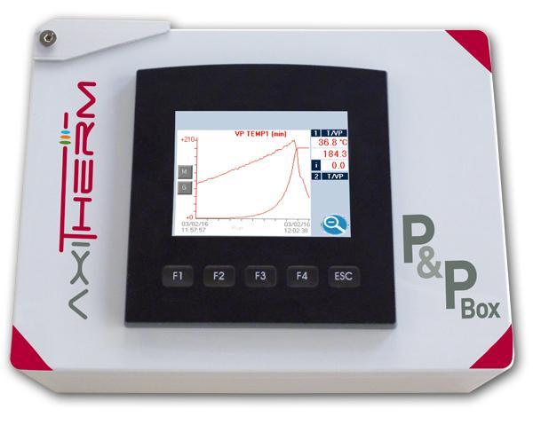 Centrale P&P Box Temperature - Mesure des températures et calcul des valeurs stérilisatrices