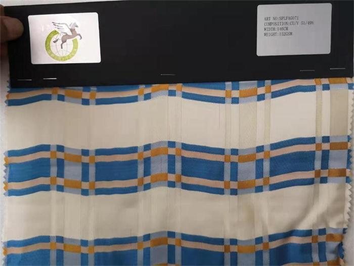 cuprammonia blend viscose fabrics - silk character ,but low cost than silk.