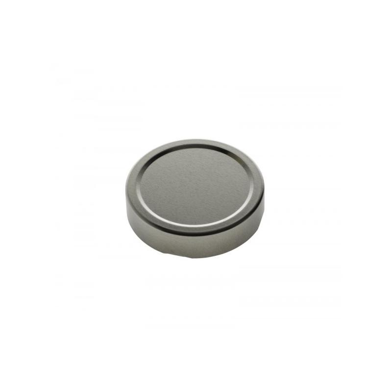 10 capsule DEEP Ø 110 mm argento per la pastorizzazione - CAPSULE DEEP
