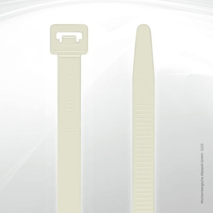 Allplastik-Kabelbinder® cable ties, standard - 5223 (natural)