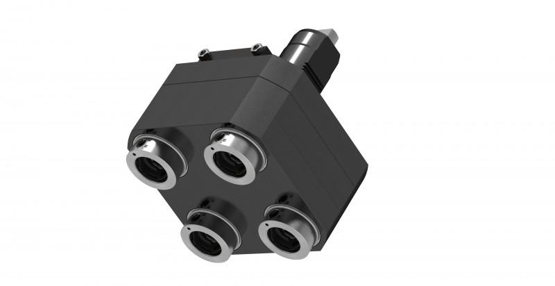 Mehrspindelkopf für Drehzentren - Mehrspindelbohrkopf für Drehzentren zur Bearbeitung von Metall