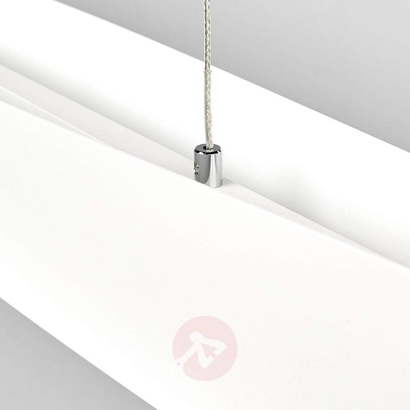 White Malu LED pendant light, dimmable, 119cm - Pendant Lighting