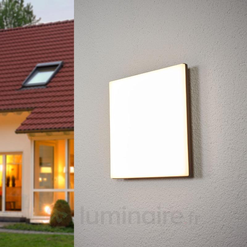 Plafonnier d'extérieur à capteur Henni avec LED - null