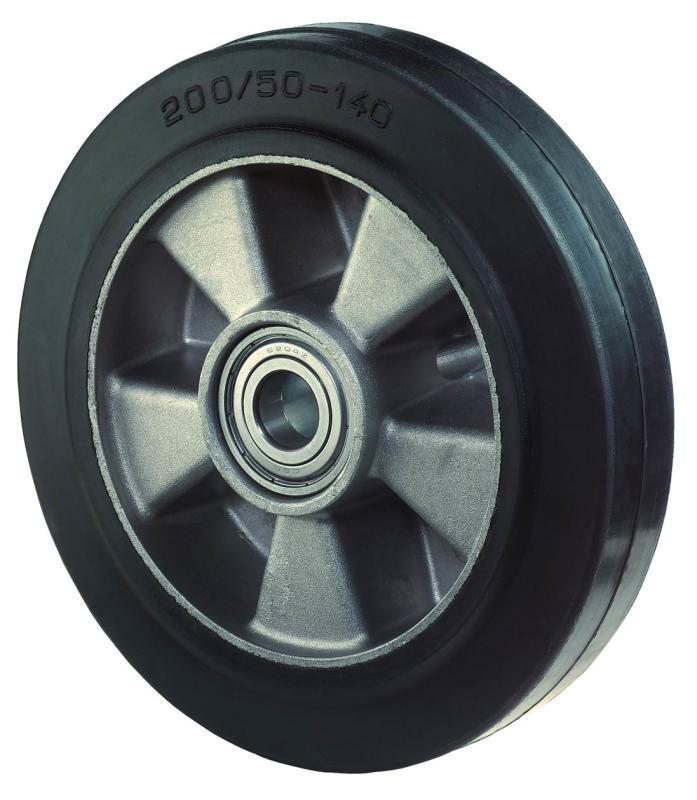 Rubber wheel B80