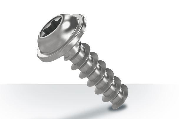 Schraube für Kunststoffverbindung