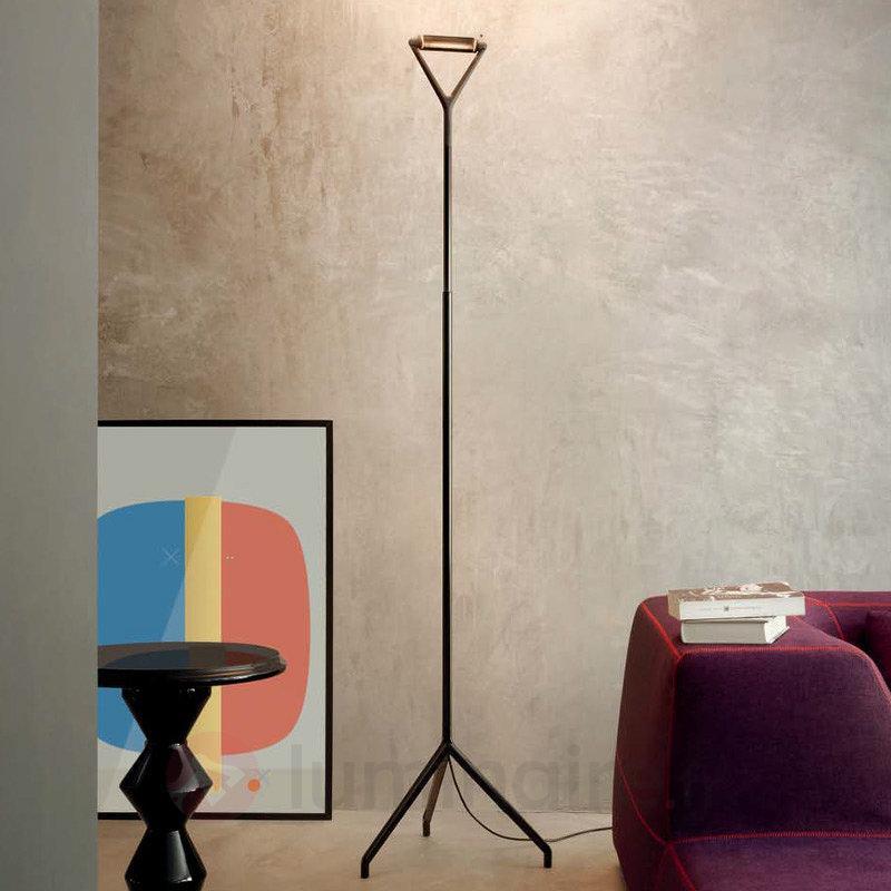 Lampadaire Lola avec variateur, noir - Lampadaires design
