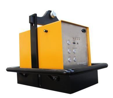 Electro Permanent Magnetic Lifter with battery - HBEP-1000 / Lifting Capacity 1.000 kg