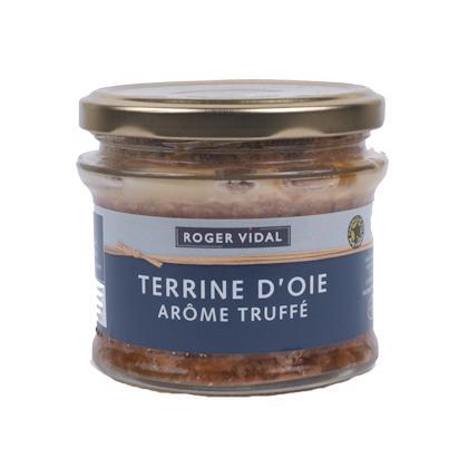 TERRINE D'OIE ARÔME TRUFFE 180g - Epicerie salée