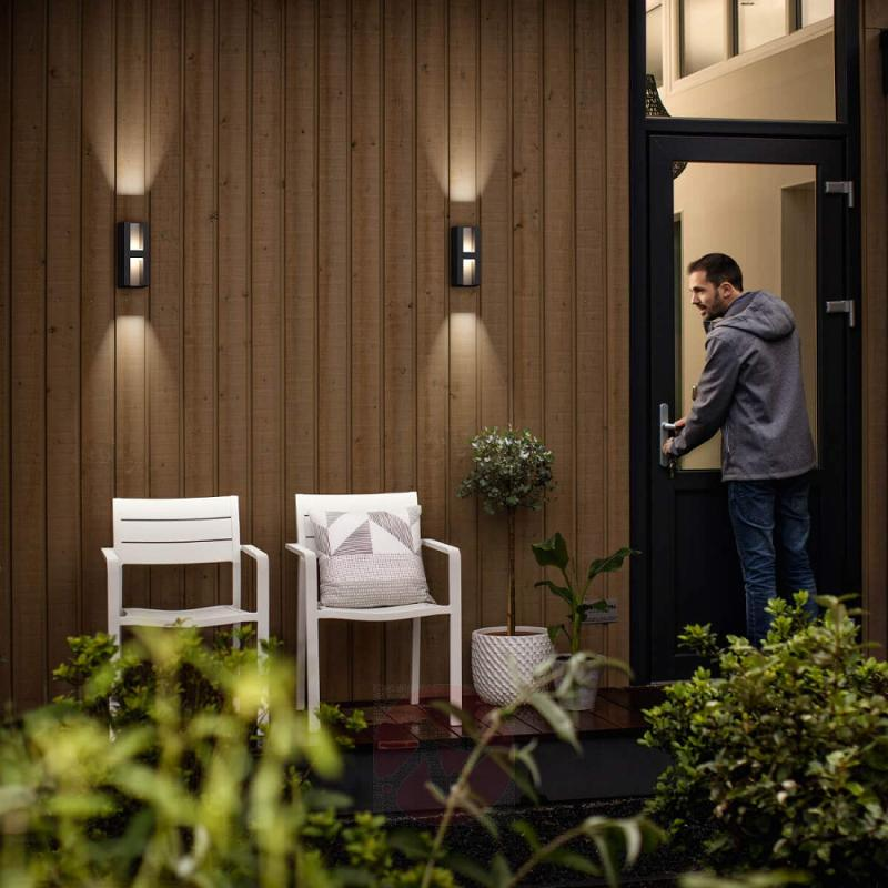 Striking LED outdoor wall light Shadow - outdoor-led-lights