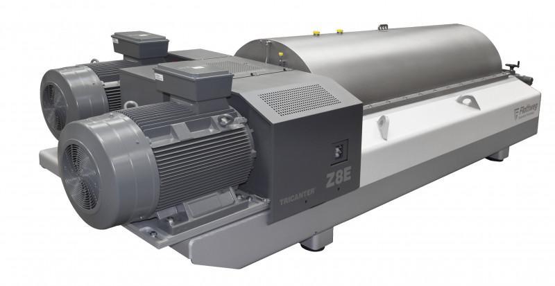 Z8E Industrial Centrifuge - The Flottweg Z8E is the giant decanter centrifuge of the Flottweg z-series
