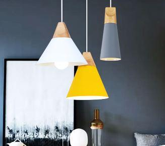Lampe en suspension scandinave