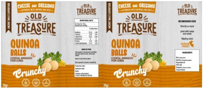 Quinoa con Queso y Orégaoo - Bolas crocantes de Quinoa con Queso y Orégano