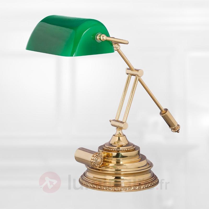 Lampe à poser banquier Eron - Lampes à poser classiques, antiques