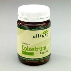 Colostrum Kapseln Bio - Nahrungsergänzung