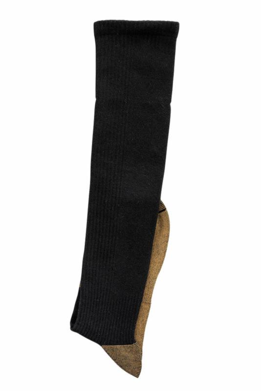 """6367 - """"Copper"""" wellness compression knee socks - Knee socks. Made with a textile fiber in permanent connection with copper."""