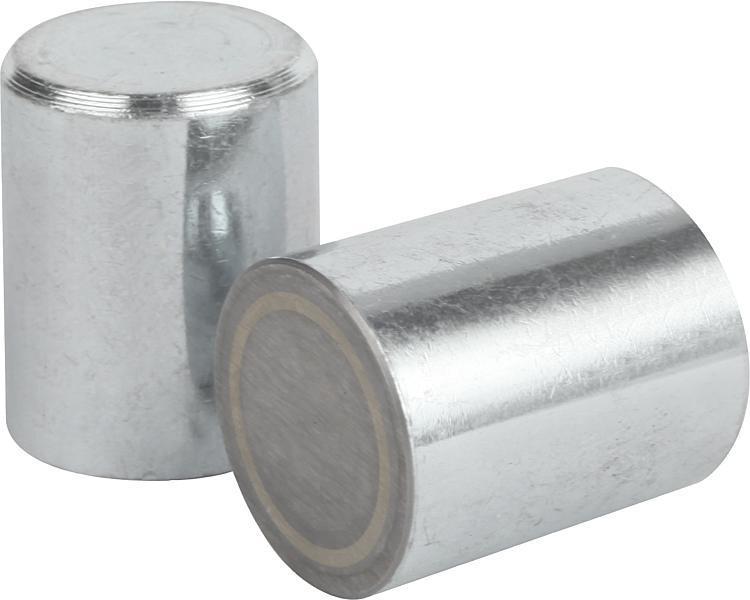 Aimant cylindrique en AlNiCo à diamètre exterieur non...