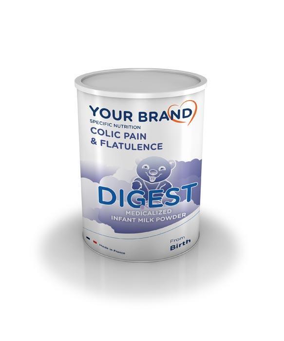 Special infant milk formula - Digest