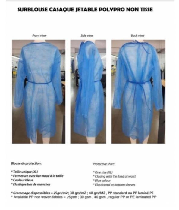 Vêtement équipement médicaux  - médical