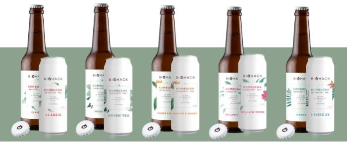 Kombucha BioHack - Fermented soft drink Kombucha