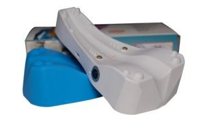 Dispositivo de correção de osso sacro e pescoço  - É disponível o modelo básico Sacrus Mag com imãs de neodímio